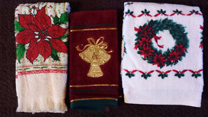 Brand New Never used Christmas Towels For Sale!