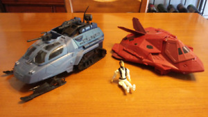 Gi joe figure and ships