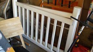 Plastic fencing/railing