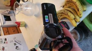 camcorder (sony handy cam)