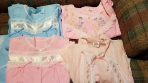 Night Gowns/Bed Jackets 100% Cotton - Never worn