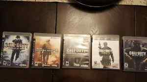 Call of Duty  (5 jeux)