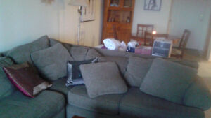 3 piece sectional including chaise