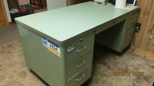 Desk, Chair, Filing Cabinet and printer stand