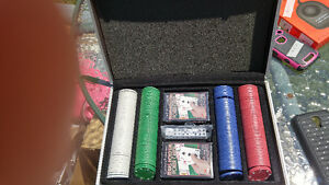 Brand New Poker chips and cards set