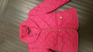 Ralph Lauren 3T quilted jacket, like new. $110USD