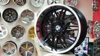 18 Inch MESH RIMS for BMW (18x8 18x9.5) Zracing -- 905 673 2828
