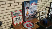 RHEINGOLD Extra Dry Lager Beer Budweiser Coors NHL Hockey