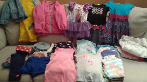 Size 5 Girls Summer Clothes Smoke Free/Pet Friendly 67 Pieces