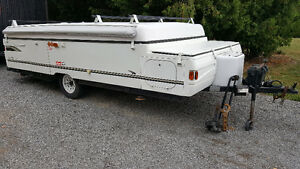 Coleman Elite Tent trailer in mint condition