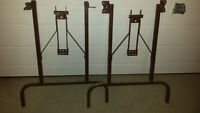 Pair of Folding Table Legs