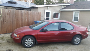 1999 Chrysler Cirrus Fresh Safety Only 118000kms