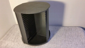 80 Compact Disc CD Rotating Spinning Storage Rack