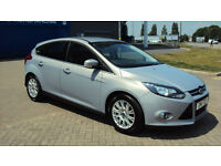 2011 FORD FOCUS 1.6TDCi ( 115ps ) TITANIUM SILVER DIESEL CAR