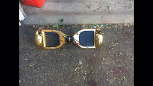Gold hover board
