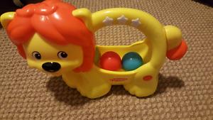 Learn & Pop Lion Toy