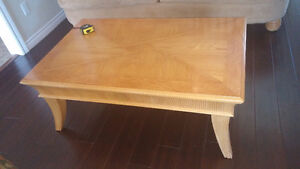 Coffee table and 2 side table set