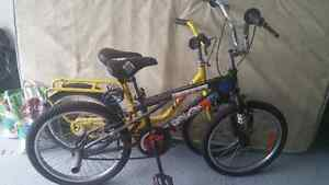 two bikes 10 dollar each
