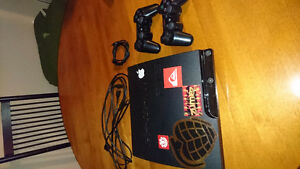 PlayStation 3 Slim with cords do controllers