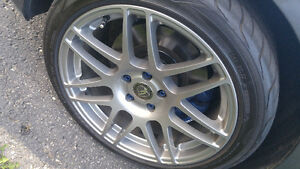 "Light weight 18"" forgestar wheels"