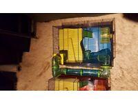 Sale 2 Savic Hamster Heaven Metro Cage