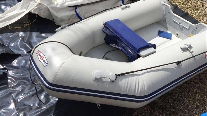 Sun Sport 270 RIB Tender Boat Suzuki Engine Accessories
