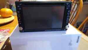 Brand new double din stereo with navigation