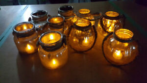 Open Jars for Tea Lights