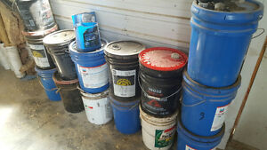 Free Used Oil Pails
