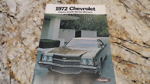 vintage GM CAR ADS PONTIAC CHEVROLET 1968 69 70 71 72