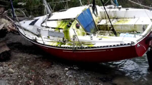 Derelict/Abandoned/Unwanted sailboats removed for free