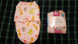 4-6 mth Sleep Sacks / Swaddles Set
