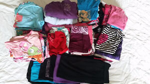 49 pc. Girls Clothing Lot # 4 size 7/8
