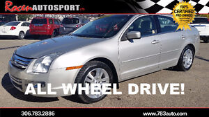 CERTIFIED 2007 FORD FUSION SEL AWD - LEATHER - PST PD - YORKTON