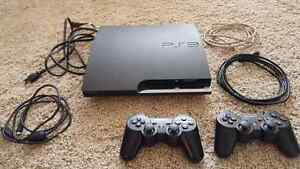 PS3 slim, 8 games, everything needed to just plug and play.