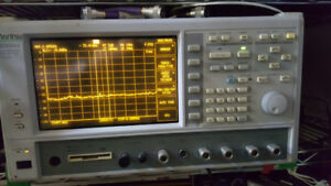 Anritsu MS8604a  spectrum analyzer 100hz-8.5ghz  max input 10wat