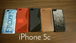 IPhone 5c cases $5 for all 5
