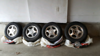 All Season tires set with rims