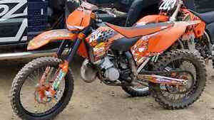2008 KTM 150 (144) 2 stroke for sale or trade for snowmobile