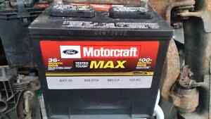Car batteries top and side post