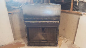 wood Fire place insert  - Traditional  --