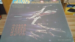 STAR WARS MOUSEPAD CALCULATOR