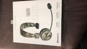 Bluetooth headphones blue tiger