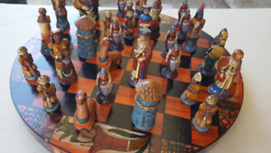 Vintage And Very Unique Chess Set