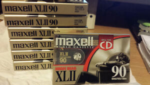 Maxell XLII90, Vintage Blank Sealed Audio Cassette Tapes