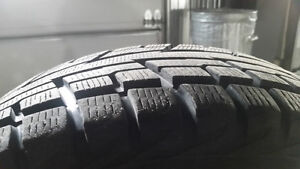 Winter tire on rim