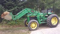 John Deere 2355 Tractor Loader 4x4