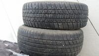 2-185-60r 14 tires and 1-185-65r14