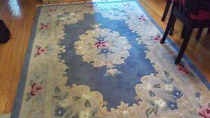 floral area rug... bloor west village