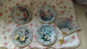 LENA LIU COLLECTIBLE PLATES